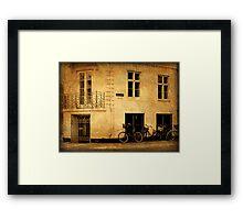 Copenhagen - The Esplanade Framed Print