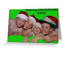 My Xmas boys - 2009 Greeting Card