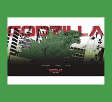 Godzilla Movie Poster Kids Clothes