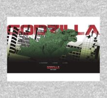 Godzilla Movie Poster Kids Clothes