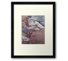 Rock Abstract No 3 Framed Print