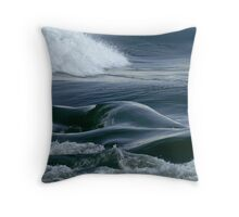The Shapes of Water Throw Pillow