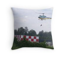 A RESCUE IN ACTION Throw Pillow