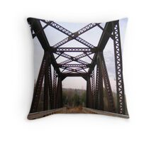 Railway architechture from 1924 Throw Pillow