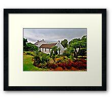 Lower Cottage Framed Print