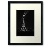 The Tower Lights Shine Framed Print