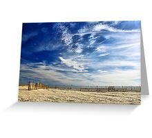 Surfing Sky Greeting Card