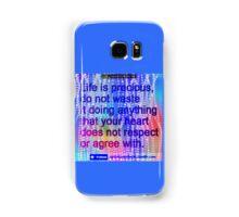Precious Life Samsung Galaxy Case/Skin