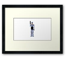 """""""Dead or alive, you're coming with me!"""" Framed Print"""