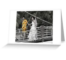 And the Groom Wore... Greeting Card