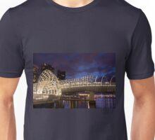 Webb Bridge Twilight Melbourne City Victoria Austalia Unisex T-Shirt