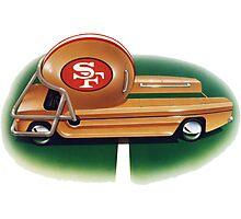 NFL truck  Photographic Print
