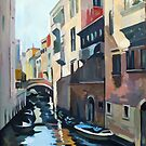 Venetian Waterway by Filip Mihail