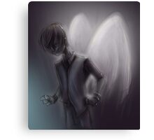 Emo Angel Canvas Print