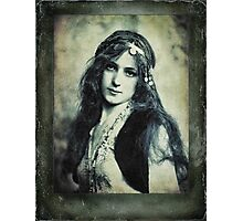 You bring out the Gypsy in me Photographic Print