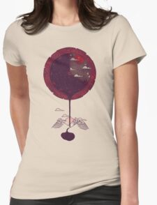 Night Falling Womens Fitted T-Shirt