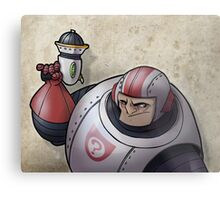 Space Buffoon Metal Print
