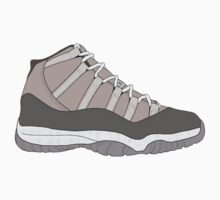 "Air Jordan XI (11) ""Cool Grey"" by gaeldesmarais"