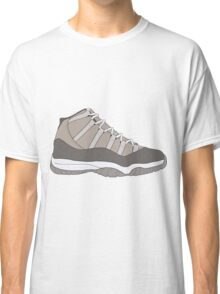 "Air Jordan XI (11) ""Cool Grey"" Classic T-Shirt"