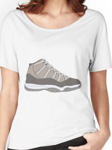 "Air Jordan XI (11) ""Cool Grey"" Women's Relaxed Fit T-Shirt"