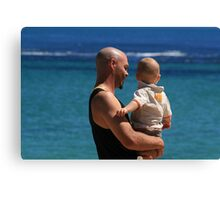 Father and Son. Canvas Print