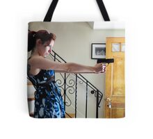 guns in the house Tote Bag