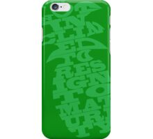 I'm not inclined to resign to maturity iPhone Case/Skin