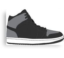 "Air Jordan I (1) ""Shadow"" Canvas Print"