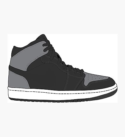 "Air Jordan I (1) ""Shadow"" Photographic Print"