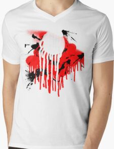 drips Mens V-Neck T-Shirt