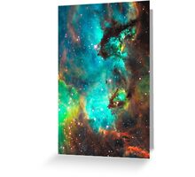 Galaxy / Seahorse / Large Magellanic Cloud / Tarantula Nebula Greeting Card