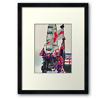 I Love London - HDR Framed Print