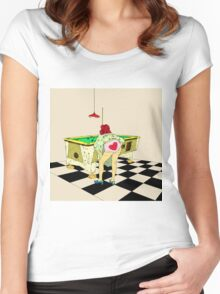 8 Ball II Women's Fitted Scoop T-Shirt