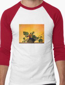 """""""Basket of Fruit"""" Men's Baseball ¾ T-Shirt"""