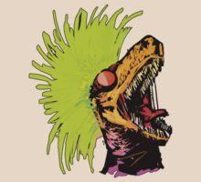 Techno Hardcore Raptor by thetarays