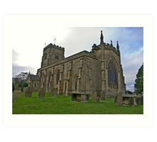 The Church East Witton. Art Print