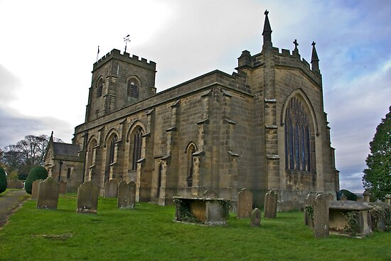The Church East Witton. by Trevor Kersley