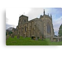 The Church East Witton. Metal Print
