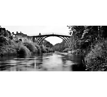 The Ironbridge  Photographic Print