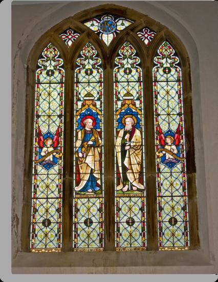 Window #1 East Witton Church by Trevor Kersley