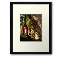 """Fairy Shadow"" Framed Print"