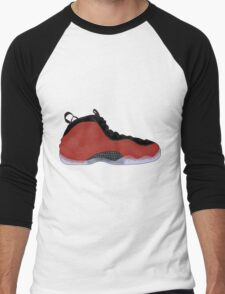 "Nike Air Foamposite One ""Metallic Red"" Men's Baseball ¾ T-Shirt"