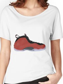 """Nike Air Foamposite One """"Metallic Red"""" Women's Relaxed Fit T-Shirt"""