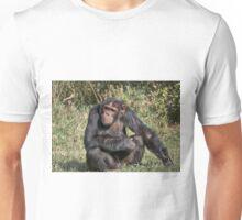 Common Chimpanzee, Pan troglodytes Unisex T-Shirt