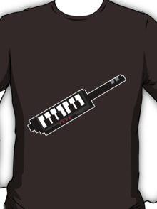 8Bit Keytar Pixels T-Shirt