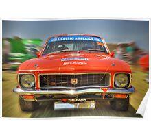Racing Tangerine LJ XU-1 Torana Poster