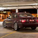 BMW E36 328i Rear by Andre Gascoigne