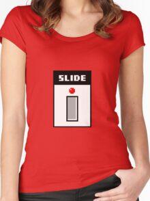 8Bit TB-303 Slide Pixel Women's Fitted Scoop T-Shirt