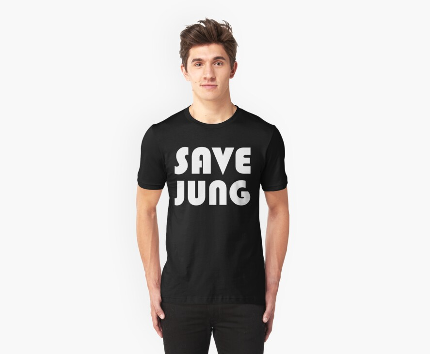 Save Jung (white design on black) by waltex