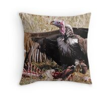 Vultures - Zambia Throw Pillow
